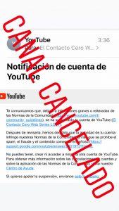 canal cancelado